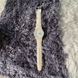 Swatch watch silicone strap